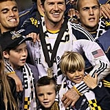 Beckham Wins MLS Cup