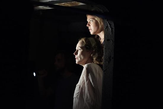 Leslie Hope and Eloise Mumford in The River.