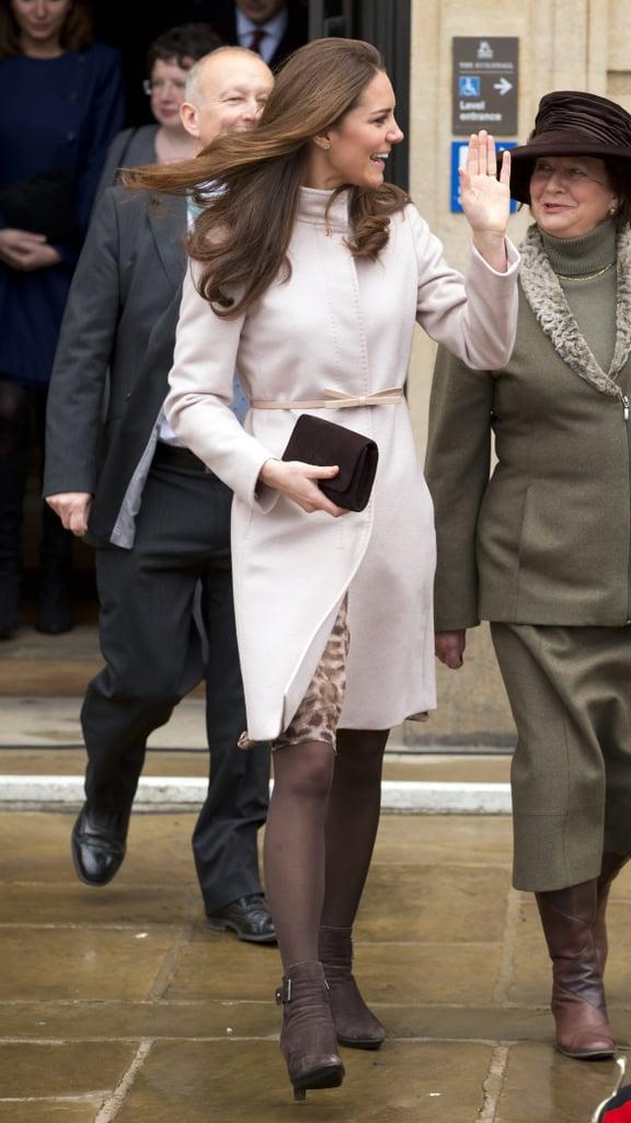 Kate Middleton in Cambridge in 2012