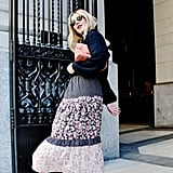 Style Your Sweater With: A Dress, Boots, and a Bag
