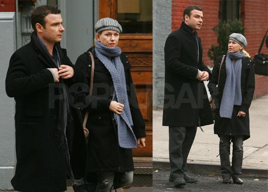 Naomi and Liev Bundle up in NYC