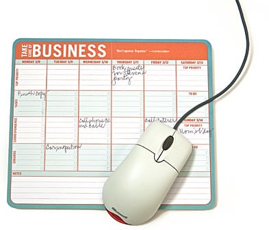 Taking Care of Business Mouse Pad