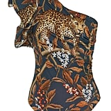 Johanna Ortiz Indonesian Desire Printed One-Shoulder One-Piece Swimsuit ($545)
