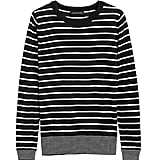 Silk Cashmere Stripe Sweater