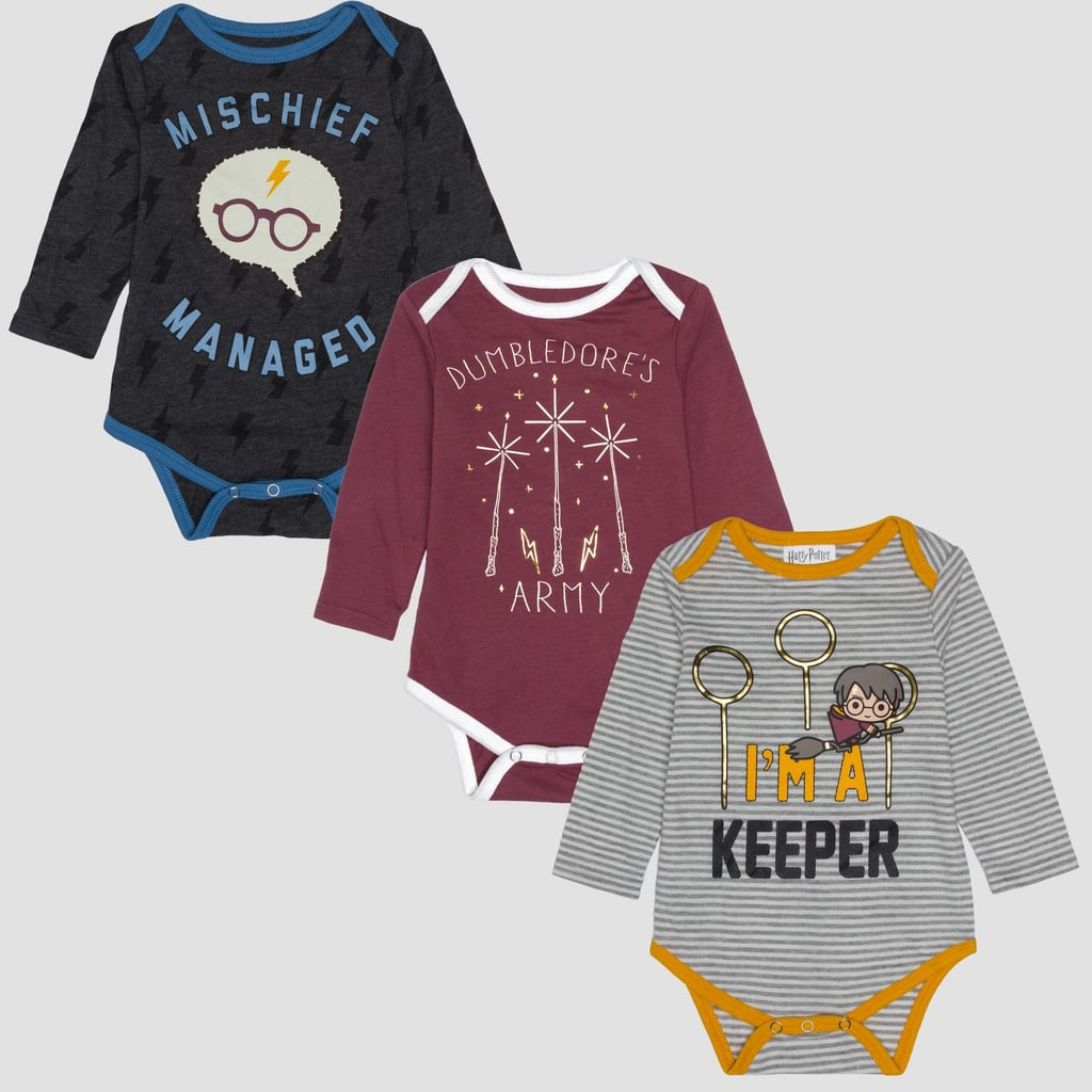 Baby Harry Potter Long-Sleeve Bodysuits