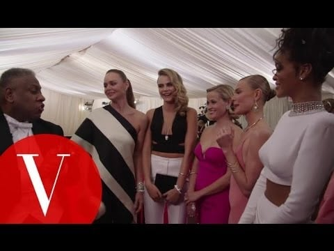 Rihanna, Cara Delevingne, Reese Witherspoon, Kate Bosworth, and Stella McCartney