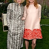 Stella poses with Vogue Madame Anna Wintour.