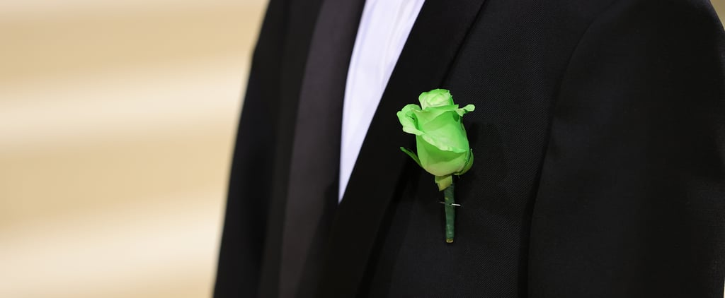 The Meaning Behind Elliot Page's Green Rose at the Met Gala