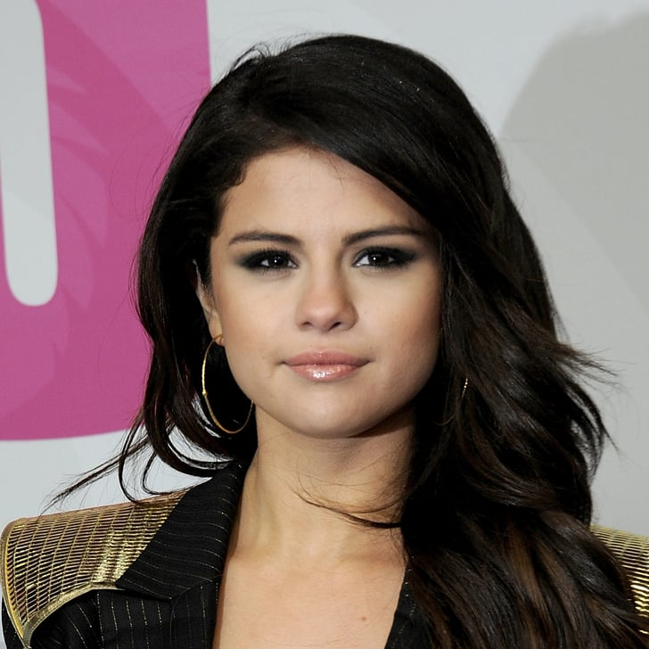 selena gomezs smoky eye makeup popsugar beauty