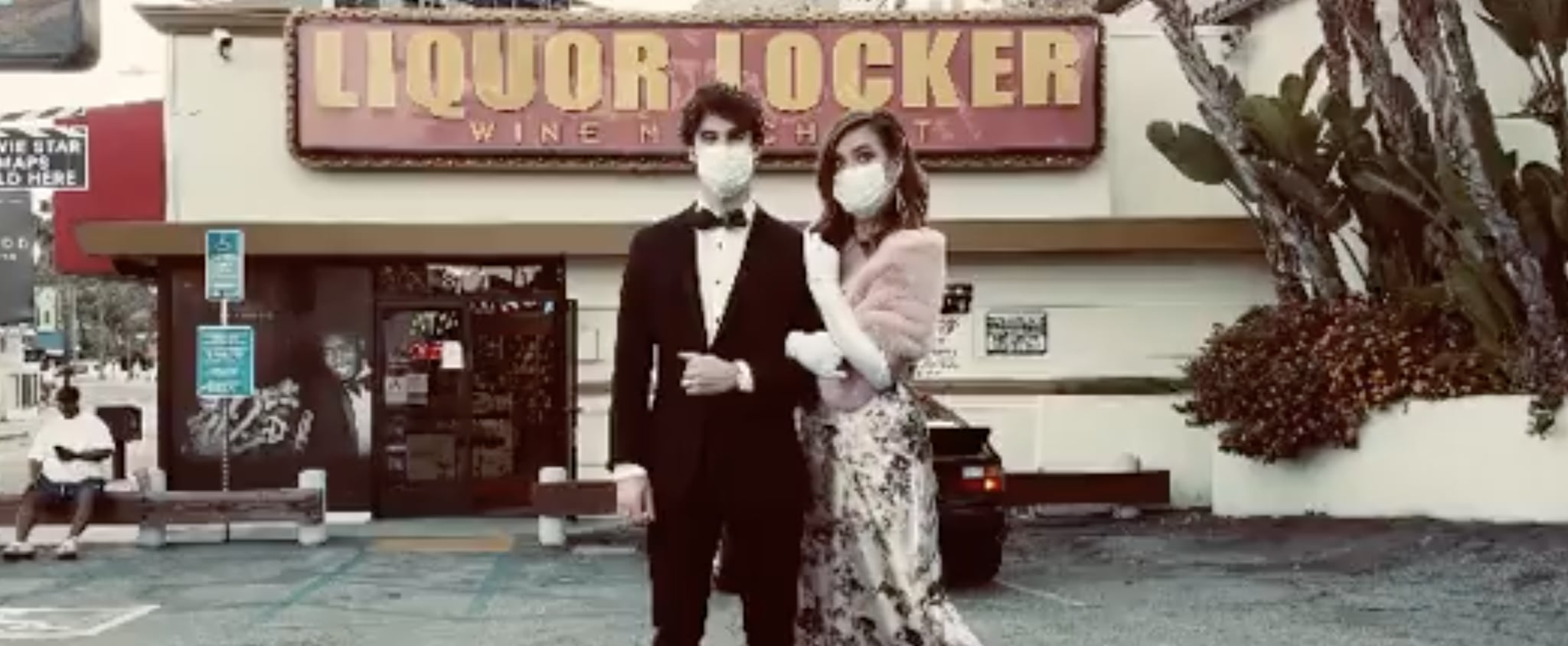 Darren Criss and Mia Swier Have Their Own Hollywood Premiere