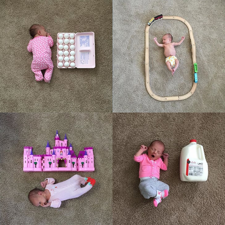 #WeeBabyVs Instagrams of Tiny Baby With Household Objects