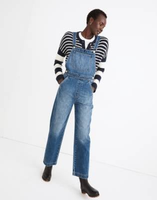 Madewell's Relaxed Overalls in Irwell Wash
