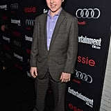 Modern Family actor Nolan Gould hit the black carpet for the Entertainment Weekly Pre-SAG Party in LA.