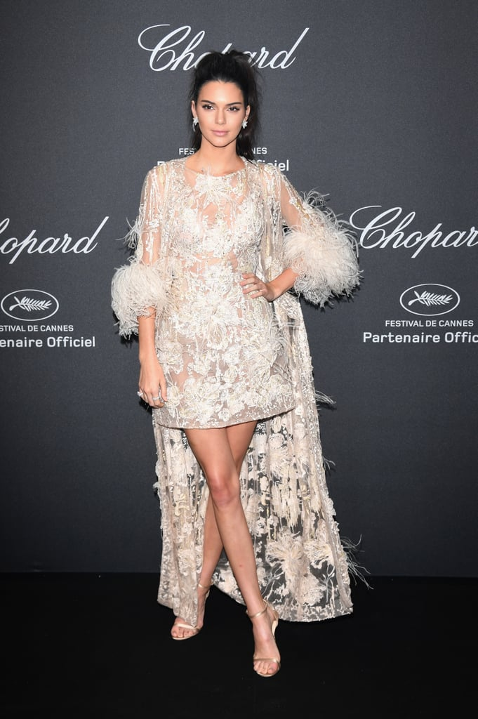 Kendall in Her Elie Saab Couture Look at Cannes