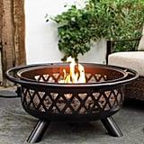 Crossweave Fire Pit Bowl