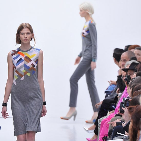 Pictures and Review of Pringle of Scotland Spring Summer London Fashion Week Runway Show