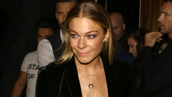 LeAnn Rimes Goes Shirtless in Plunging Blazer for Early Birthday Bash -- See the Racy Pic