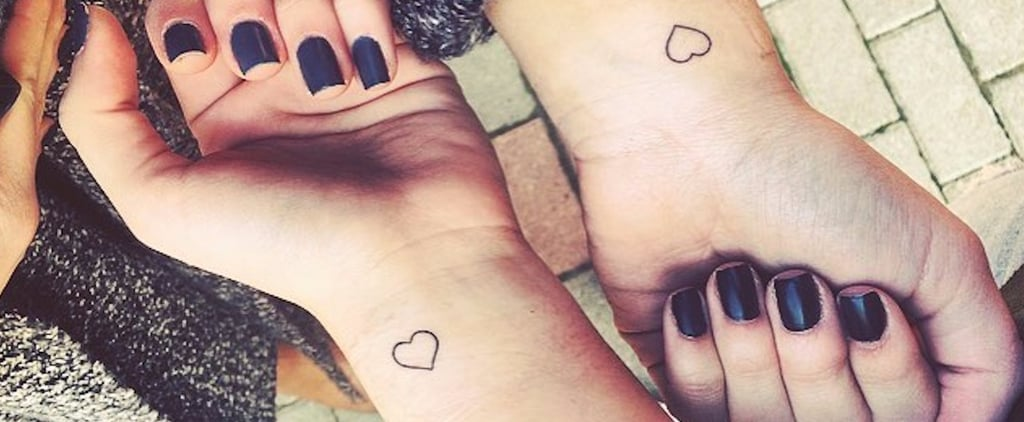 21 Tiny Matching Tattoos For Sisters Who Are BFFs