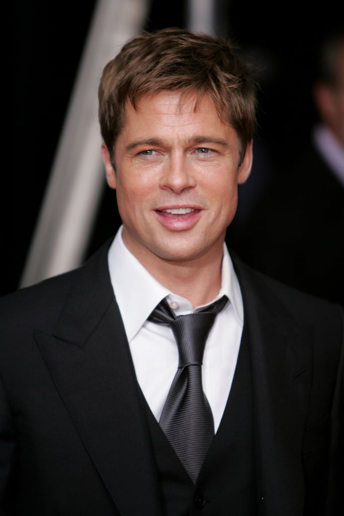 Brad sported a sleek suit and tie for the NYC premiere of A Mighty Heart in June 2007.