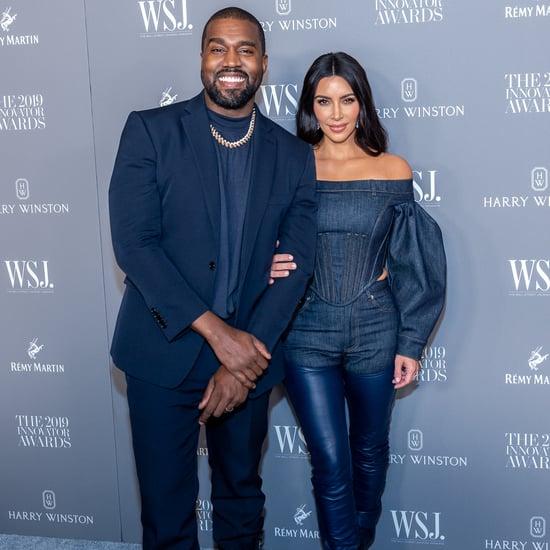 Kim Kardashian Wearing Burberry at WSJ. Innovator Awards