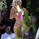 Pictures of Paris Hilton Bikini