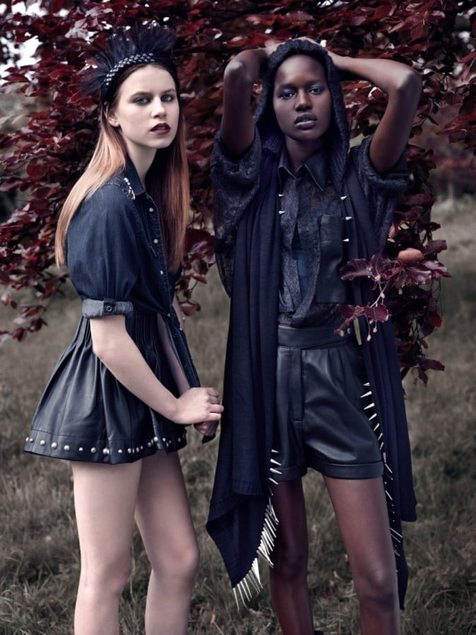 Topshop Fall 2010 Ads