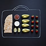Deconstructed Quesadillas