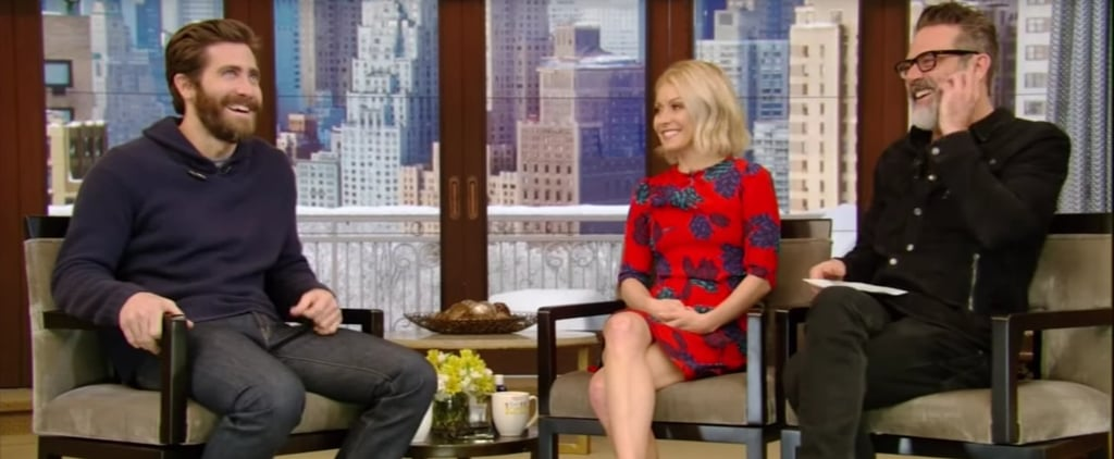 Jake Gyllenhaal on Live With Kelly February 2017