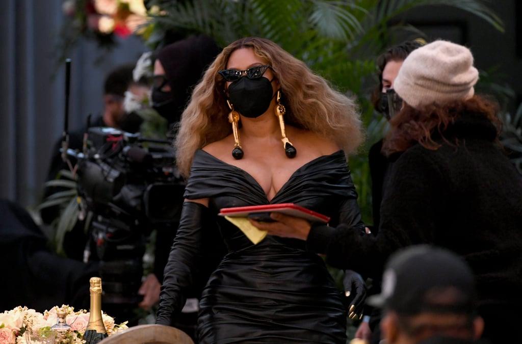 Beyoncé at the 2021 Grammy Awards