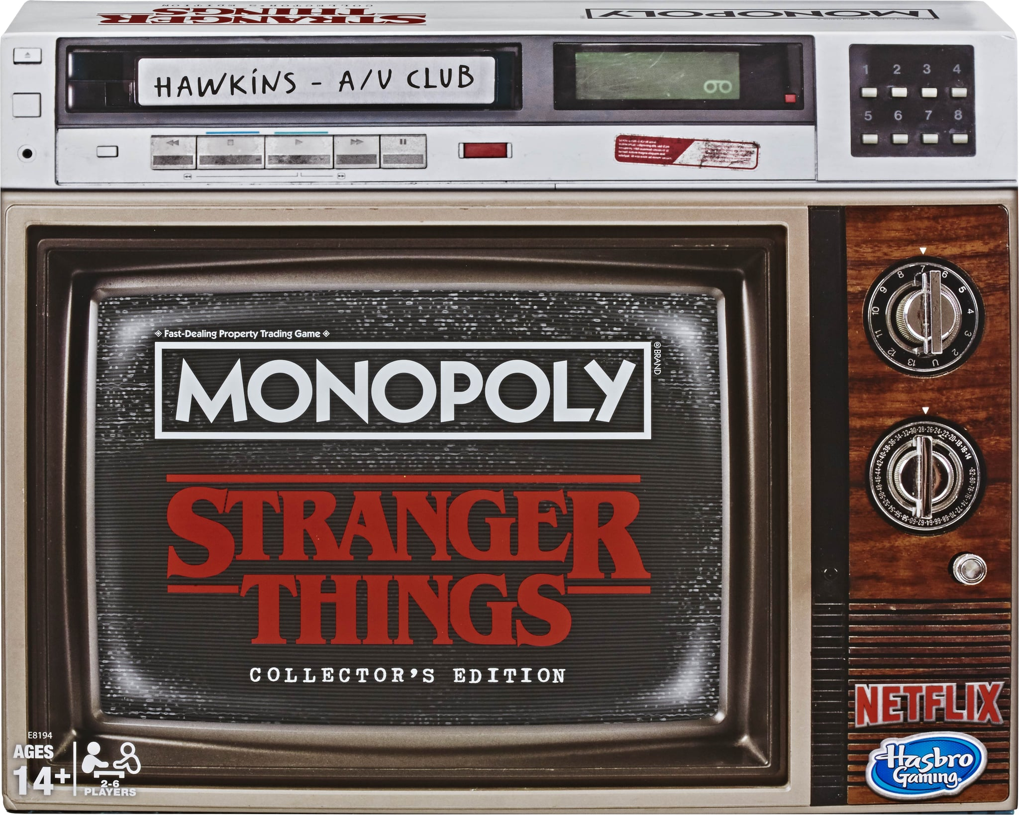 Stranger Things Monopoly Game Collector/'s Edition Board Game