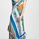 Tory Burch Patchwork Printed Dress