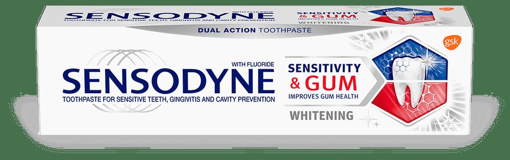 Sensodyne Sensitivity & Gum, Whitening