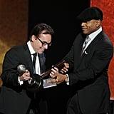 Chris Columbus and LL Cool J