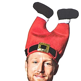 Funny Santa Hat on Amazon