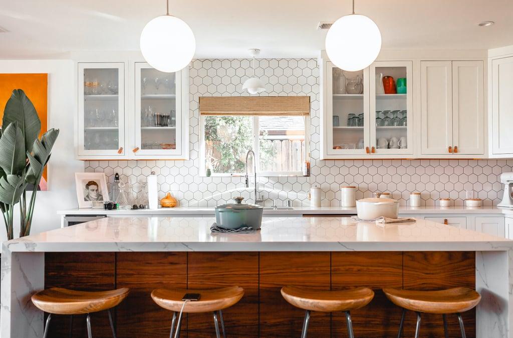 Modern Kitchen Zoom Background