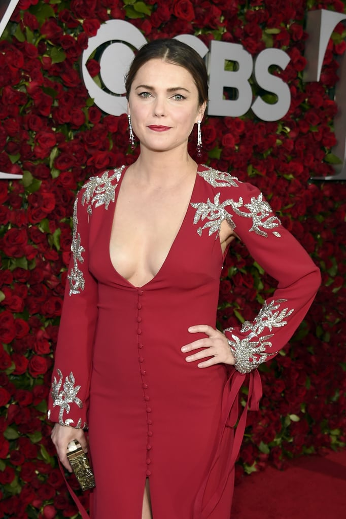 Keri Russell's Red Dress at the Tony Awards 2016