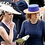 Princess Eugenie and Beatrice, 2016