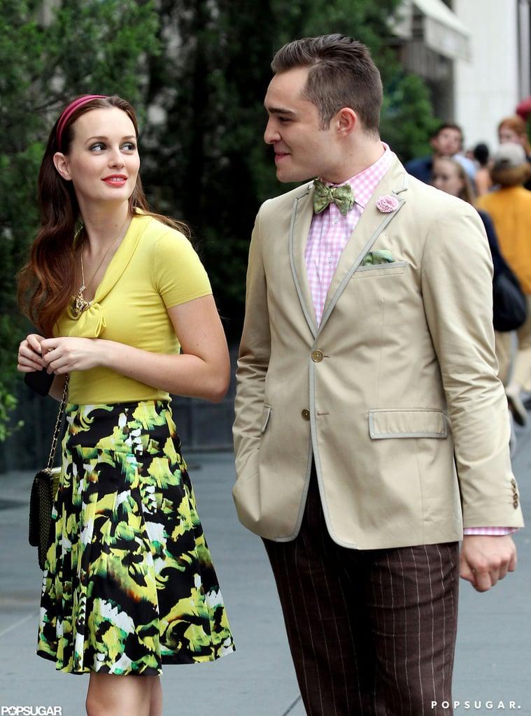 Gossip Girl's Blair and Chuck Put on a Fashionable Show