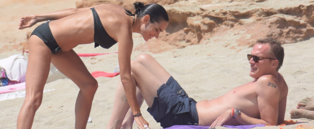 Jennifer Connelly Is Basically a Bond Girl on the Beach With Paul Bettany