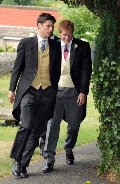 Pictures of Prince Harry at Wedding