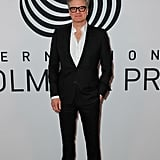 Colin Firth at the International Woolmark Prize Show