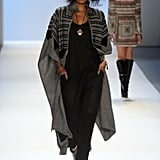 A boho gorgeous take on the blanket coat from Mara Hoffman.