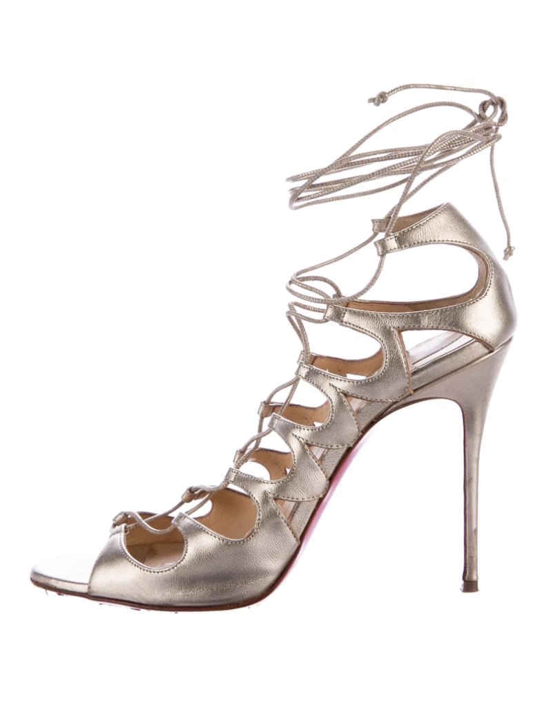 e3551e0ad1 cheap christian louboutin beige sandals yellow d0211 1c425