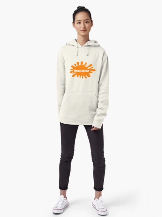 Redbubble Nickelodeon Logo Pullover Hoodie ($50)