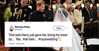 The 1 Thing Prince Harry Did at the Royal Wedding That Has Us All Weak in the Knees