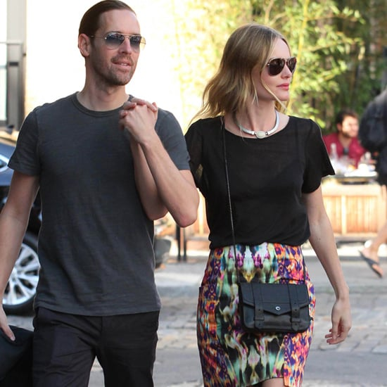 Kate Bosworth Wearing Ikat Skirt