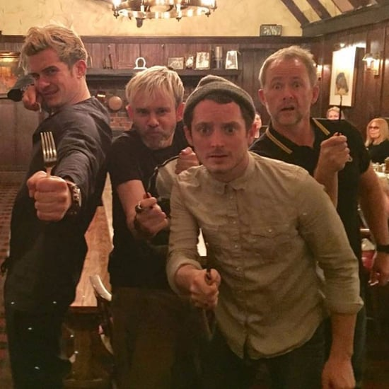Lord of the Rings Reunion Instagram Photo January 2017