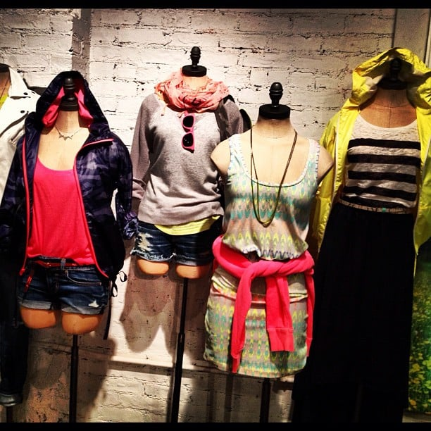 American Eagle's Spring collection continues their signature casual, beach-inspired attitude.