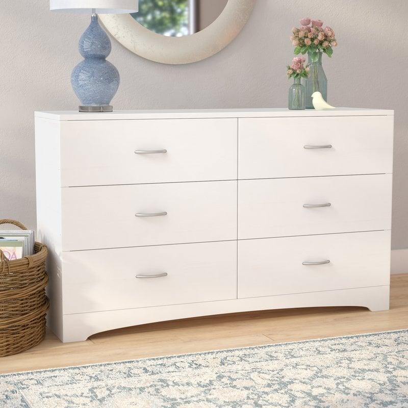 Poulson Six-Drawer Dresser