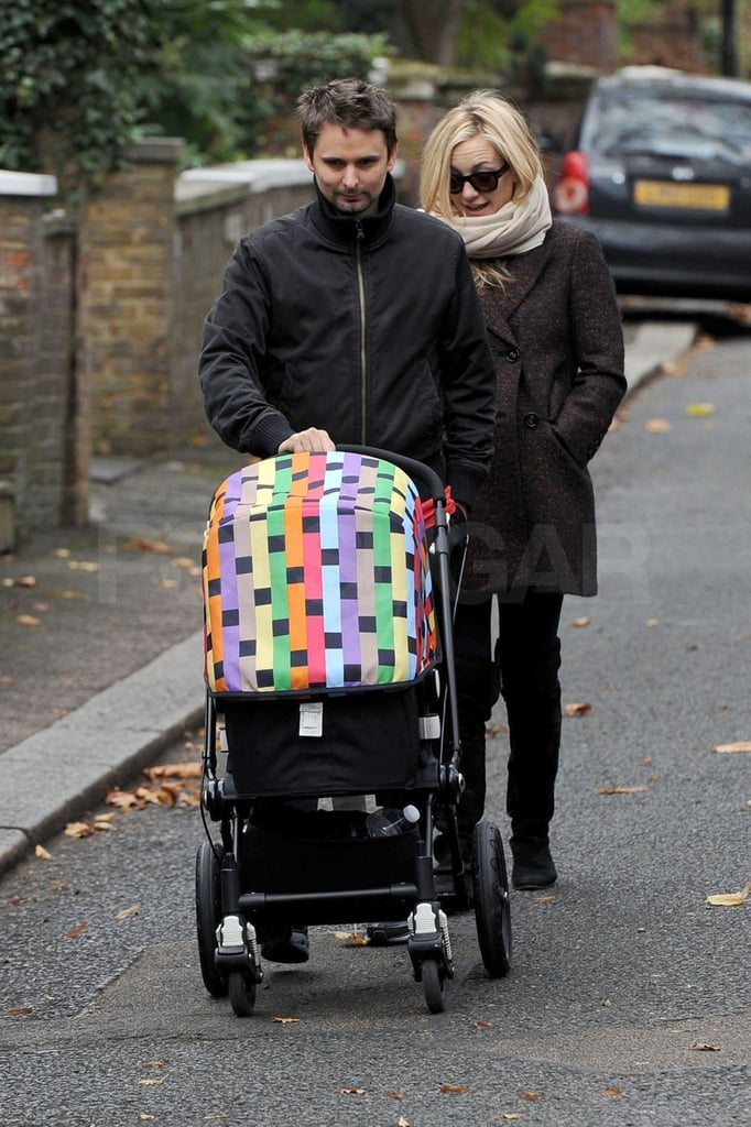 Kate Hudson and Matthew Bellamy Walking With Bing Pictures ...